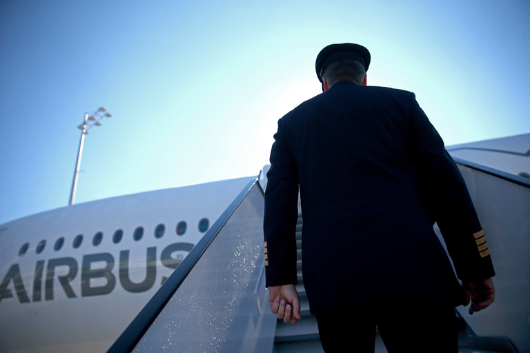 Lufthansa And Airbus Present New A350 Passenger Plane