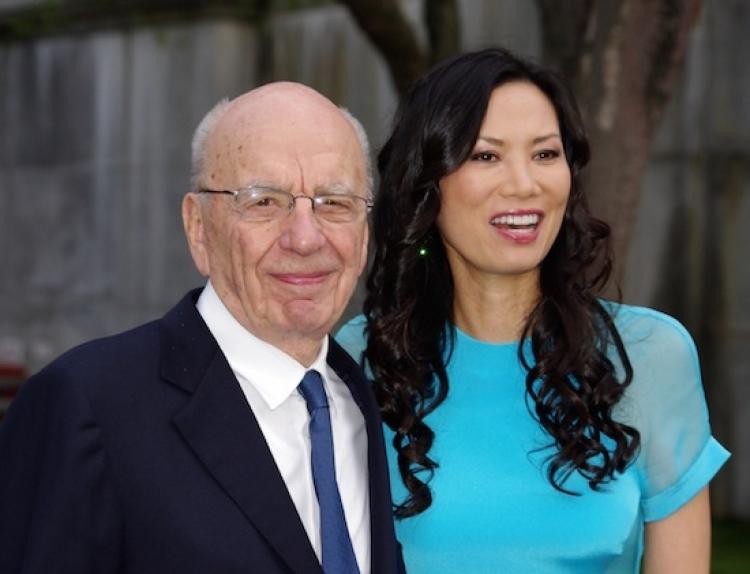 Rupert Murdoch és Wendi Deng