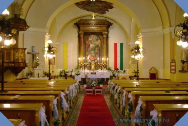 Szent Anna templom belülrõl
