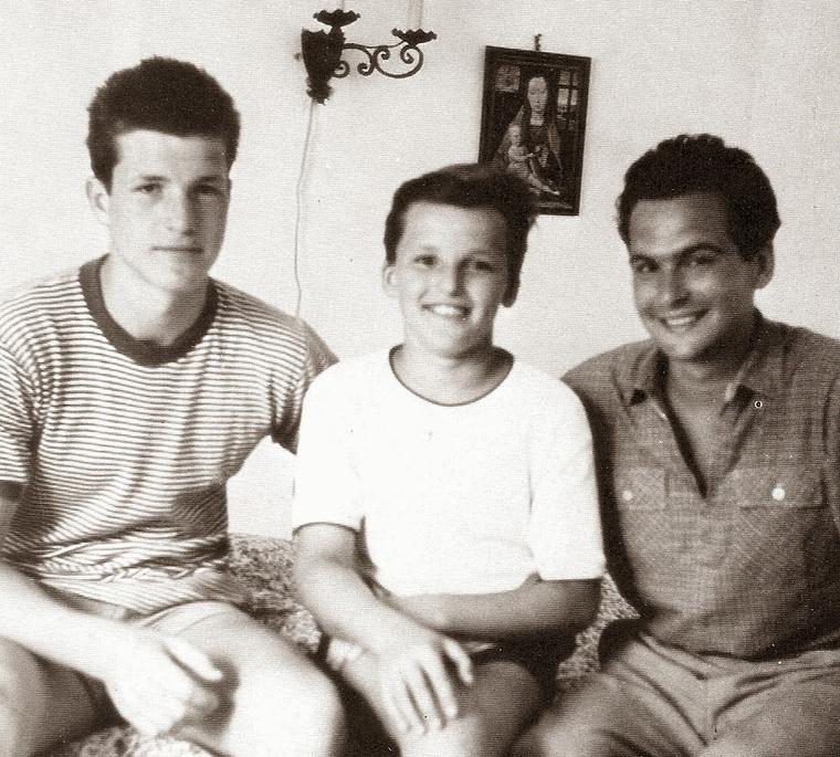 Balról jobbra: Bujtor István, Frenreisz Károly, Latinovics Zoltán