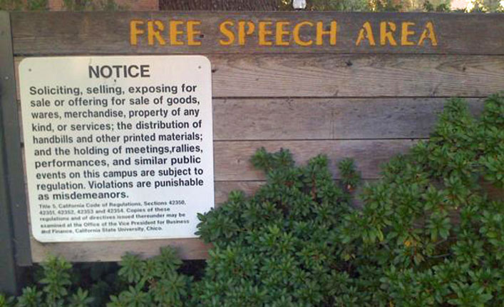 california-state-chico-free-speech-zone