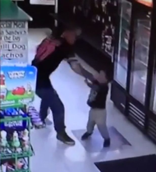 dad-punches-toddler-in-the-face