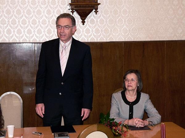 Hargittai István és Hargittai Magdolna