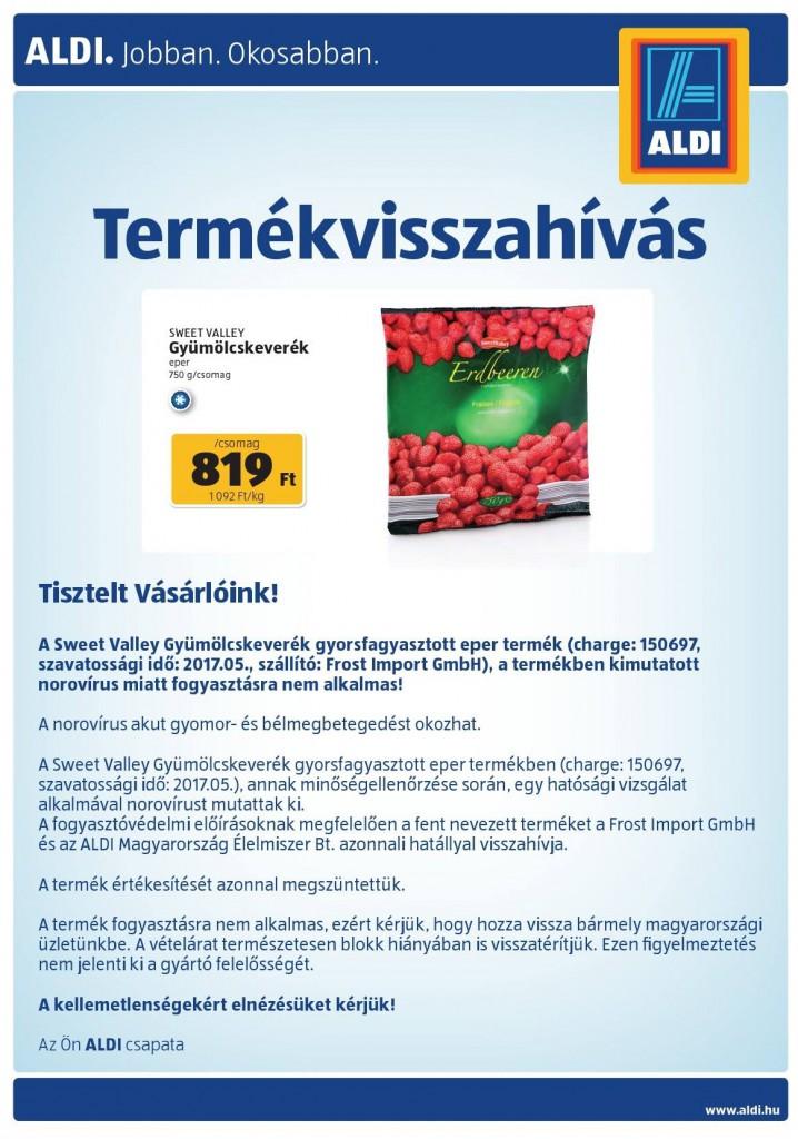 Aldi Erdbeeren Norovirus 2021