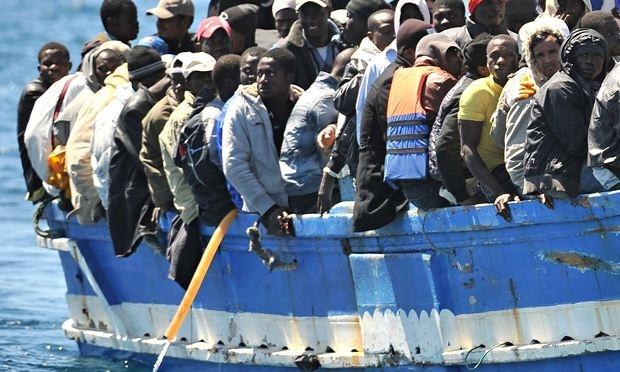 Menekült áradat egy lélekvesztő segítségével