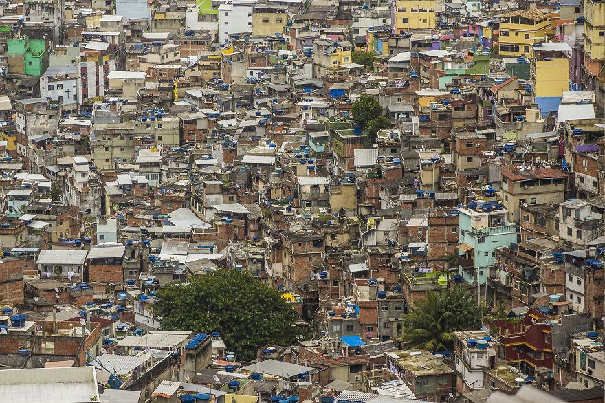 Favela Rocinha, Brazília