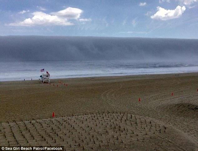 New Jersey cunami