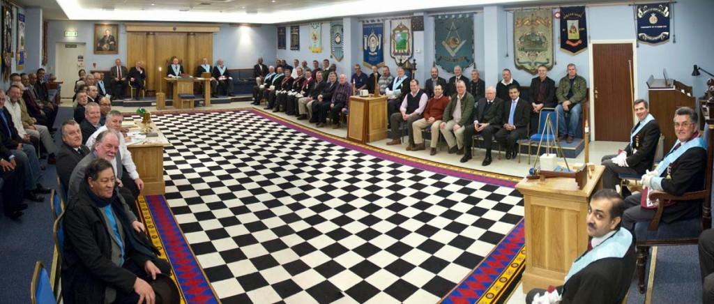 Szabadkőművesek sakktáblája