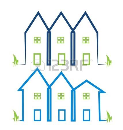 18857582-ingatlan-házak-logók