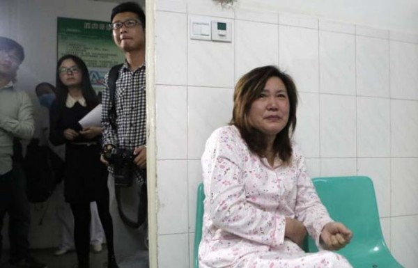 "PICTURED: Grandma Lu Yuanxiu, 57 A Chinese mum who nursed her dying son for two years even though she was seriously ill herself has been cured after doctors used the boy's kidney when he died to save her life. The tragic story started when Chen Xiaotian from Jinzhou city in Hubei province in central China was diagnosed as having a malignant brain tumour aged just five. He was treated and given an operation and for a few months it seemed that everything was well, but then the tumour returned with a vengeance and doctors told his parents there was little chance he would survive. In addition his mother Zhou Lu, 34, had been diagnosed as suffering from kidney failure that left her permanently ill and in need of dialysis treatment. Despite her illness however she continued to care for her son, taking him for regular treatment at the hospital as he gradually worsened. Eventually he became blind and shortly before he died had become bedridden and virtually paralysed, with his mother and grandmother having to do everything to care for him. Grandma Lu Yuanxiu, 57, said: ""The doctors approached me rather than his mother because of the sensitive nature of the issue. They told me that my grandson not survive but his kidneys could help his mother and also save to other lives as well. ""I discussed it with Zhou and she refused point-blank, she absolutely didn't want to hear any talk of that happening."" But the Gran had enlisted the help of her grandson who had told his mother: ""I want to save your life."" In tears, his mother had agreed to the doctor's proposal saying that what changed her mind was the thought that if her son was to die, part of him would live on in her. Doctors confirmed that the tissue match was perfect and when he died on April 2, he was quickly moved to the operating theatre where his kidneys and liver were removed donated to his mother and two other people. The second kidney went to a 21-year-old girl and his liver to a 27-year-old man. Hospital spokesman Yi Tai said all three transplants were a complete success and that the youngster's death had allowed three others not only to live, but to have the hope of normal lives. He said: ""The medical team held a brief moment of prayer and silence for the poor child before the transplant, I think its fair to say there were very few dry eyes."""