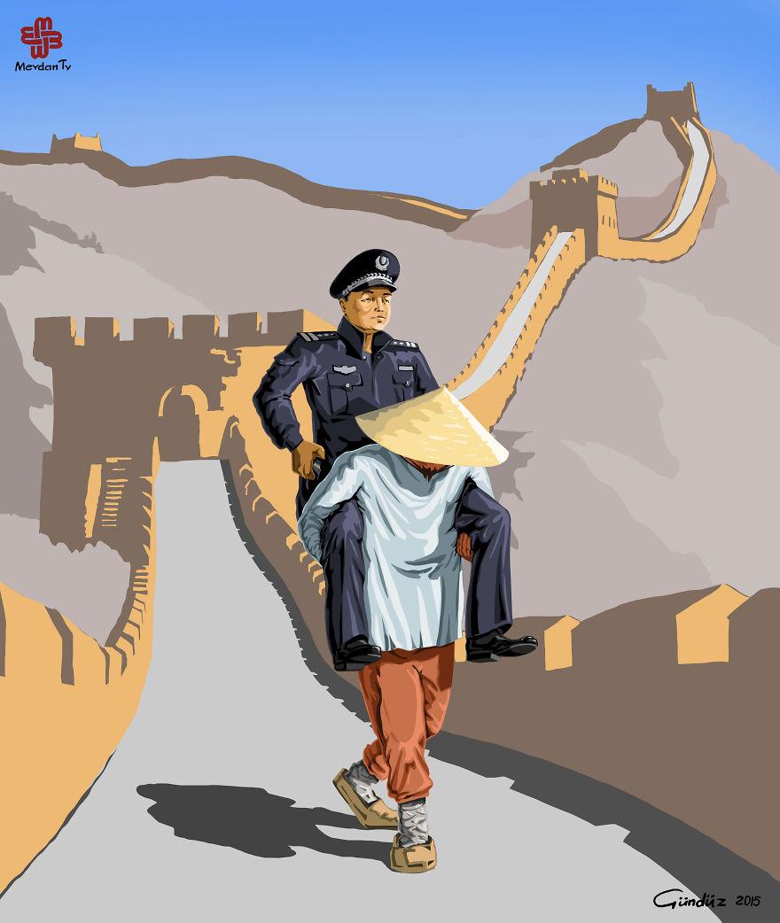 Kínai rendőrség