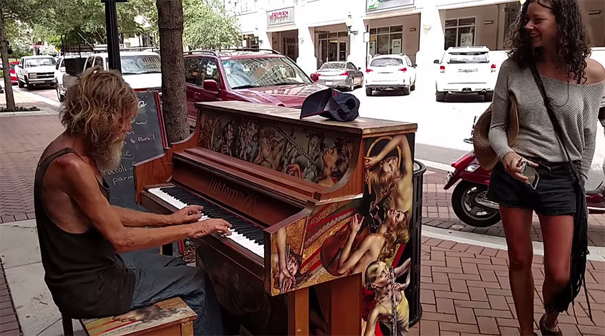 homeless-man-plays-piano-styx-come-sail-away-donald-gould-sarasota-keys-3