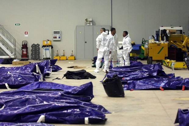 Lampedusai targédia áldozatai