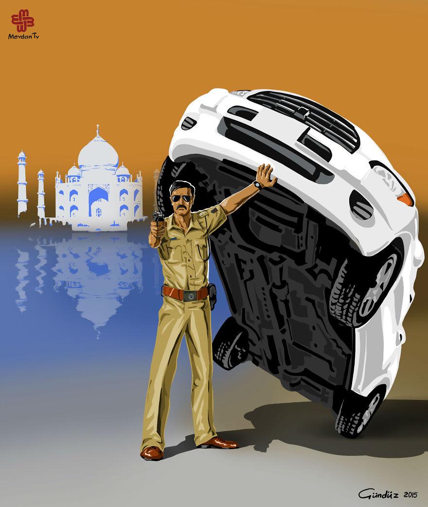Indiai rendőrség