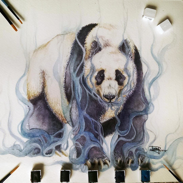 realistic-watercolor-paintings-dany-lizeth-2