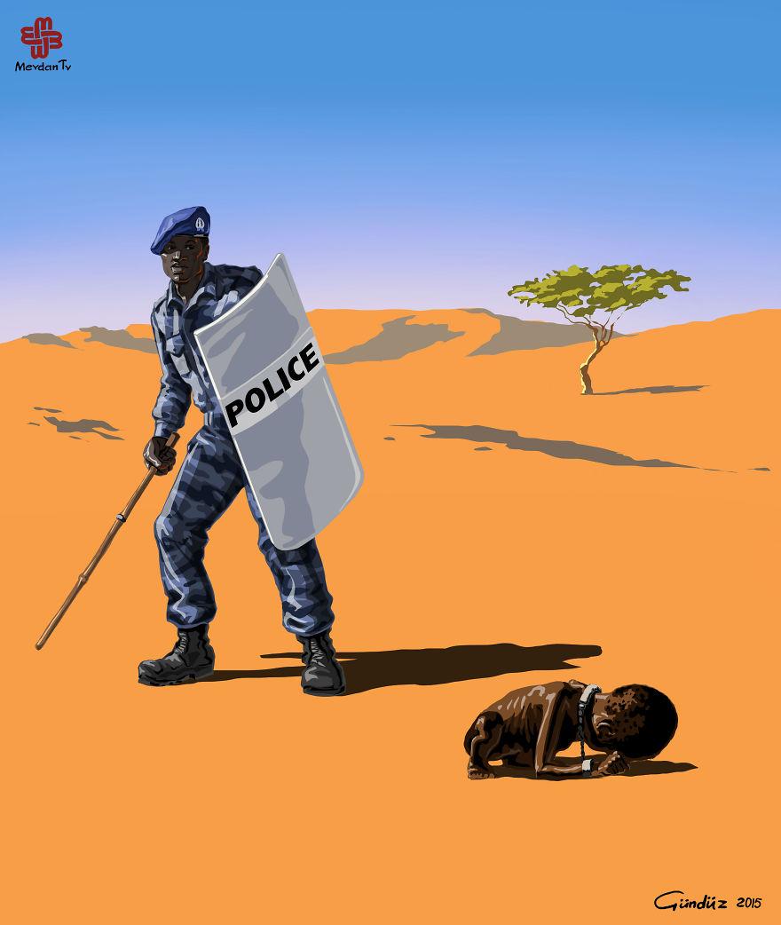 Szudáni rendőrség