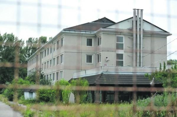 Vámosszabadi menekülttábor