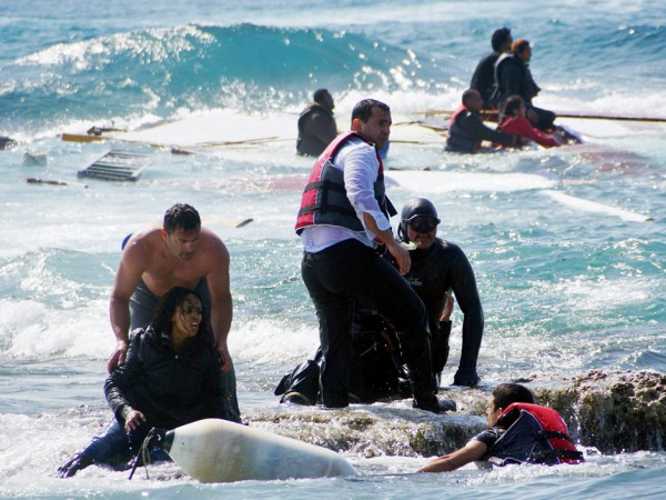 GREECE-IMMIGRATION-SHIPWRECK
