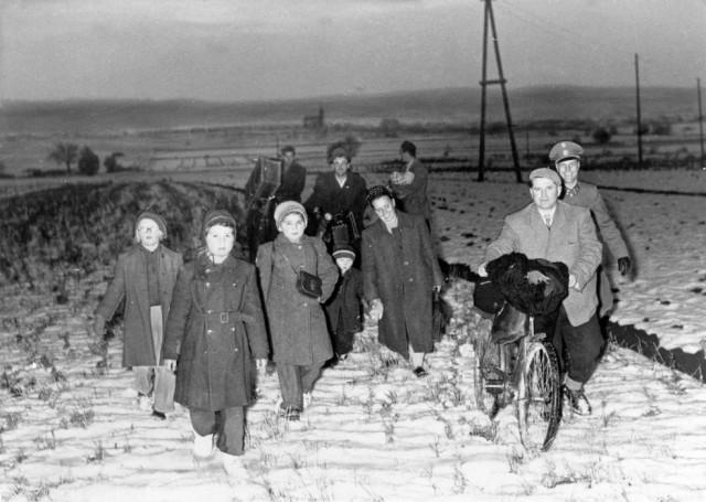 Magyar-menekültek-az-osztrák-határ-Klingenbach-előtt-1956.-640x455