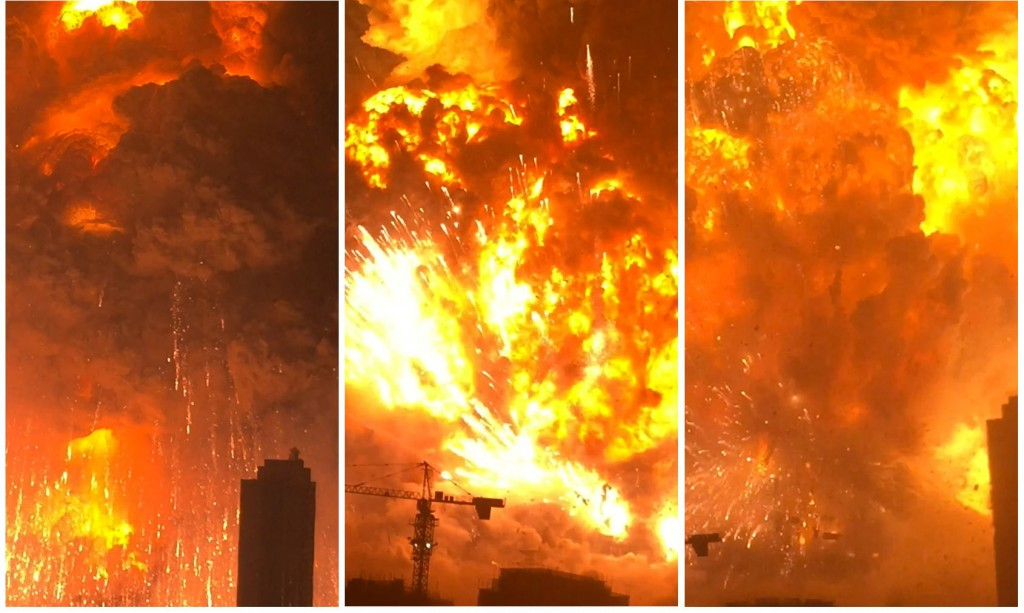 China Port Explosion Business