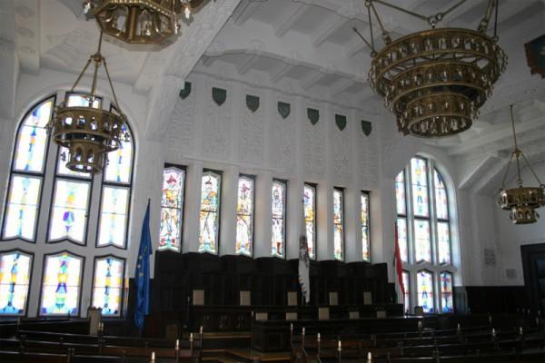 kaposvári Megyeháza dísztermé