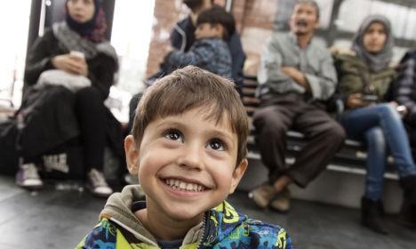 Egy szíriai kisfiú
