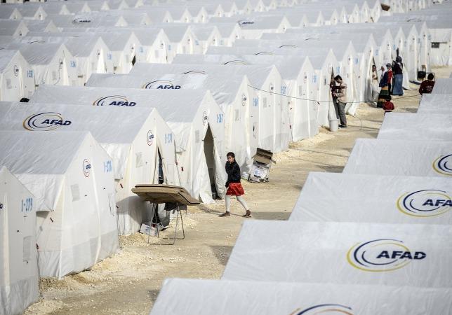 Suruci menekülttábor