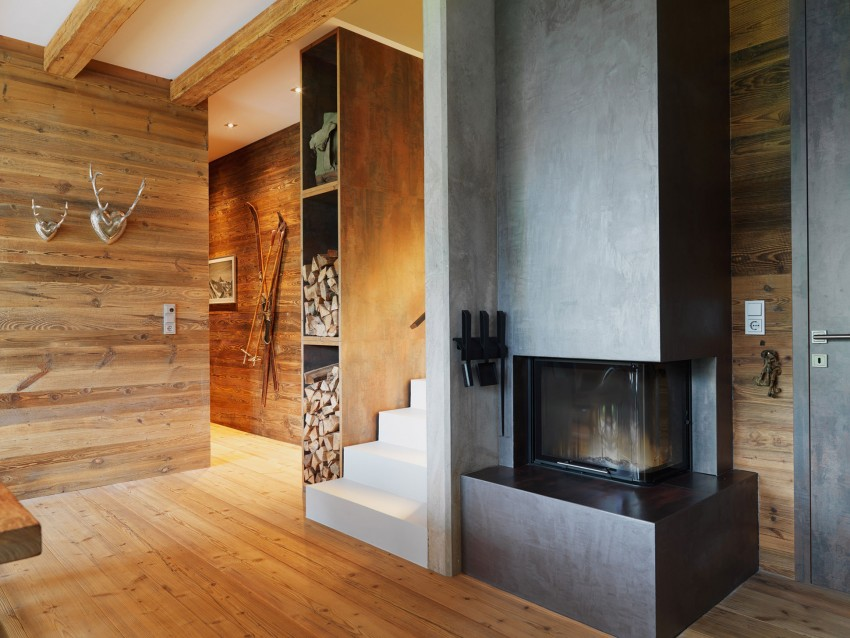 Austrian-mountain-retreat-fireplace-and-wood-storage