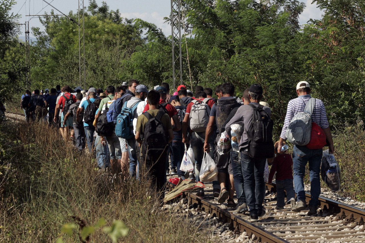 Migrants Attempt To Get Through The Greek/Macedonian Border