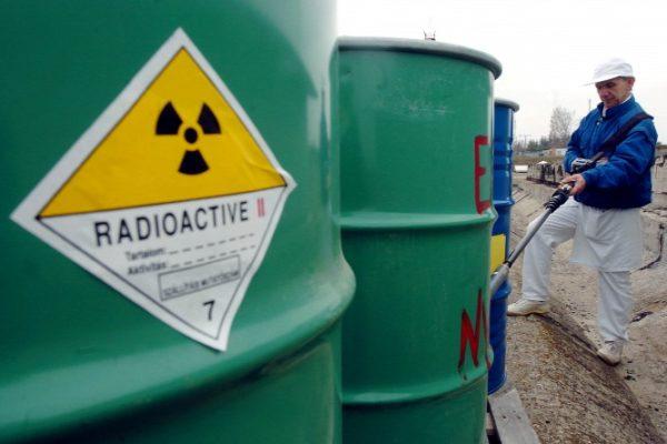 Radioaktív Hulladékokat Kezelő