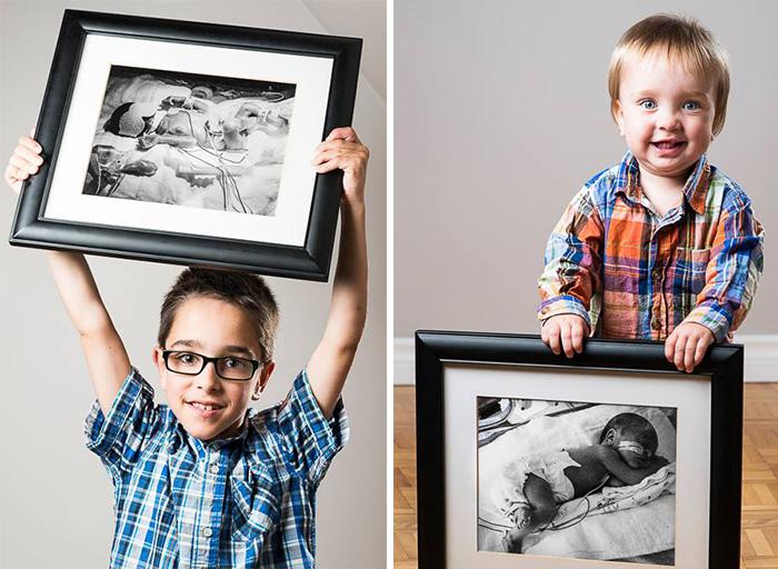 Felix 23 hétre született, öccse majdnem 33 hétre