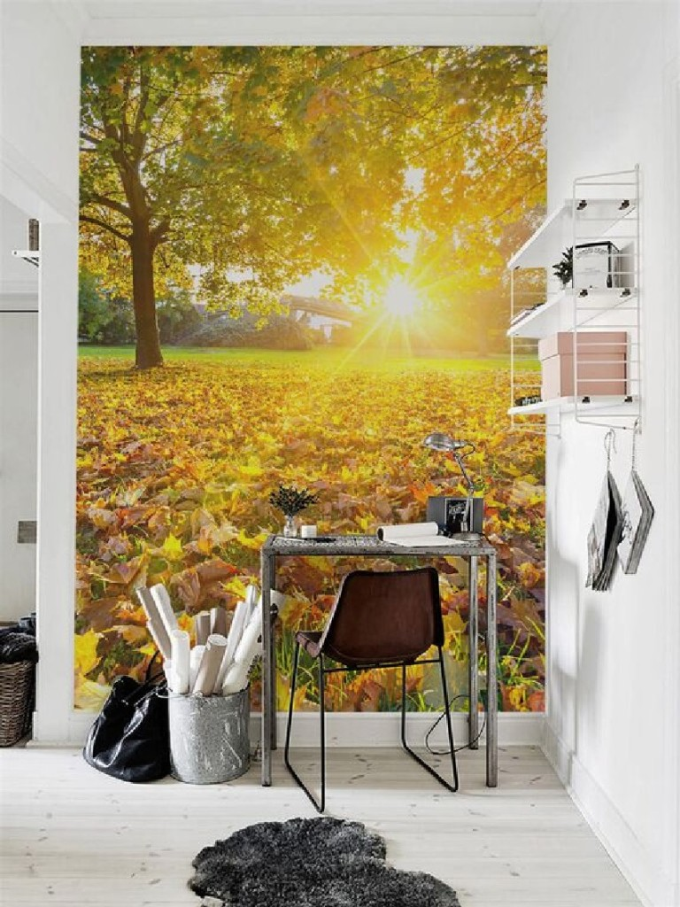 Autumn-Wall-Mural-by-PIXERS