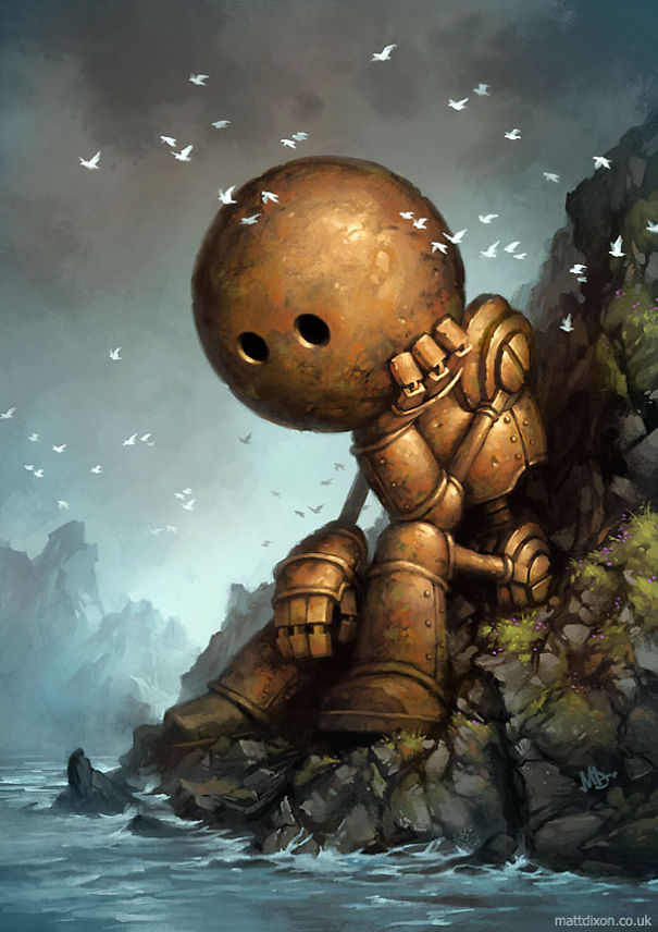 Paintings-of-lonely-robots-experiencing-the-quiet-wonder-of-the-world__605