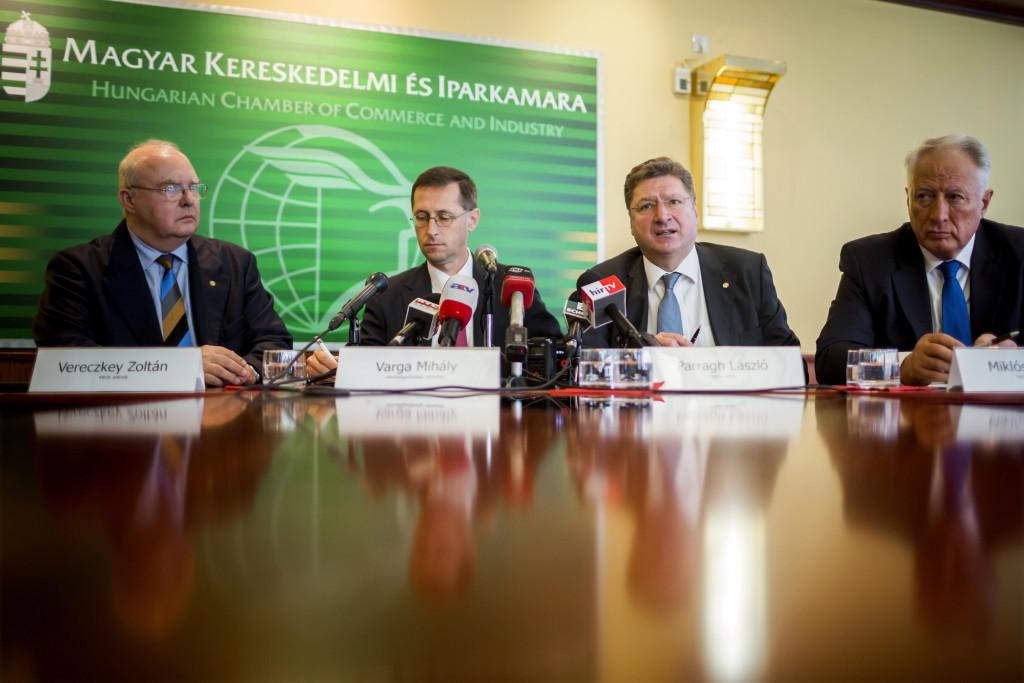 Parragh László; Miklóssy Ferenc; Varga Mihály; Vereczkey Zoltán