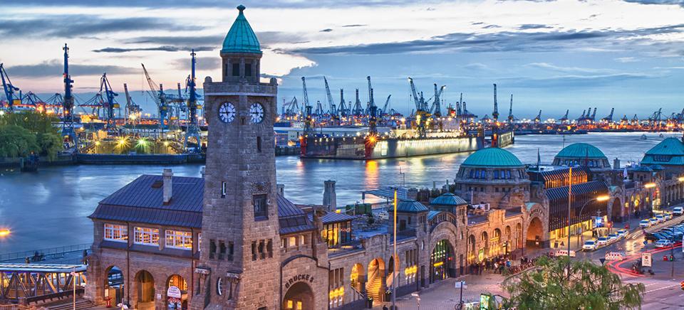 Hamburg a legendás kikötőváros