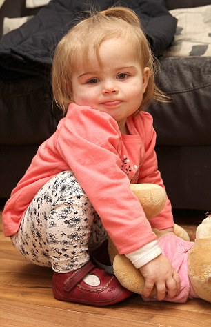 9/11/15 Dunleer, Co. Louth. 17 month old baby nearly spends weeks in intensive care after biting a washing liquid tab. Little Jenny Maher spent weeks in intensive care after biting a liquid washing tab.