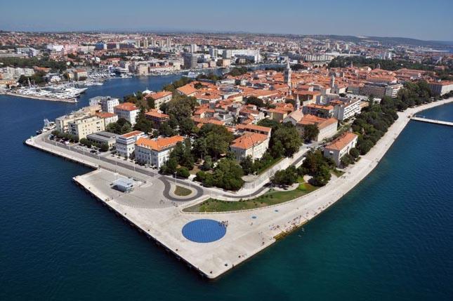 parasail Zadar Poluotok panorama letenje avion