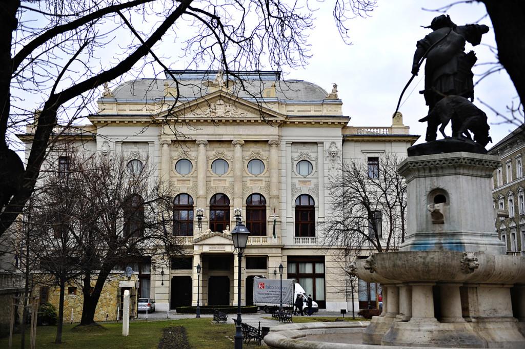 2011. március 2. Budai vigadó épülete. Corvin tér. Fotó: Kurucz Árpád