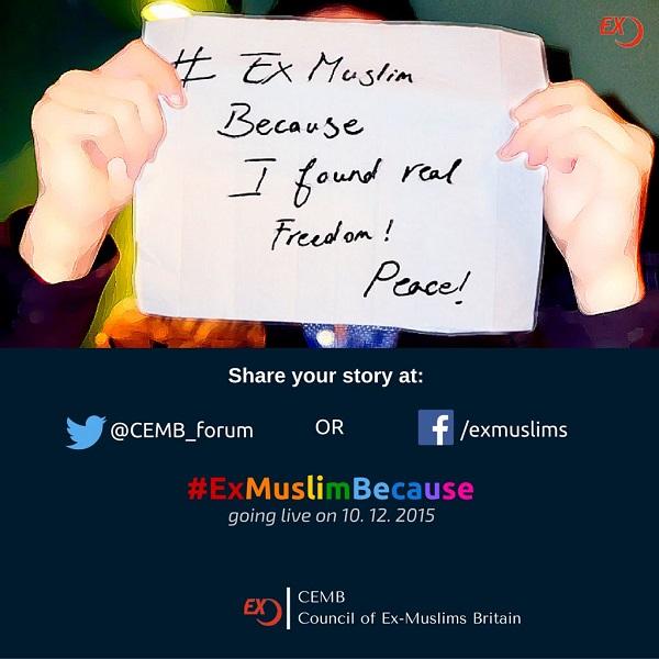 #ExMuslimBecause2