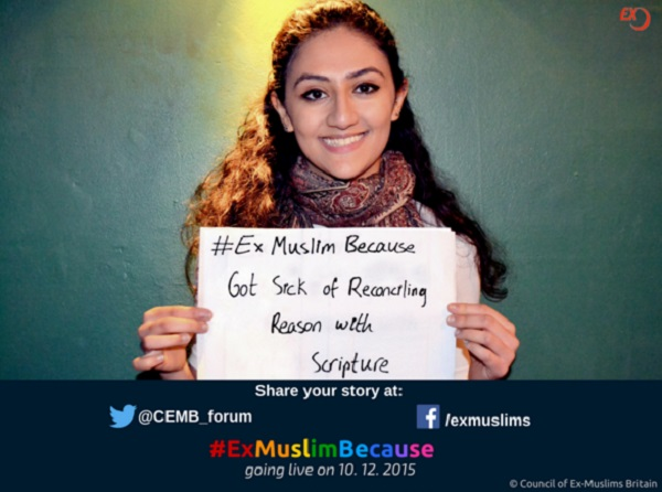#ExMuslimBecause3