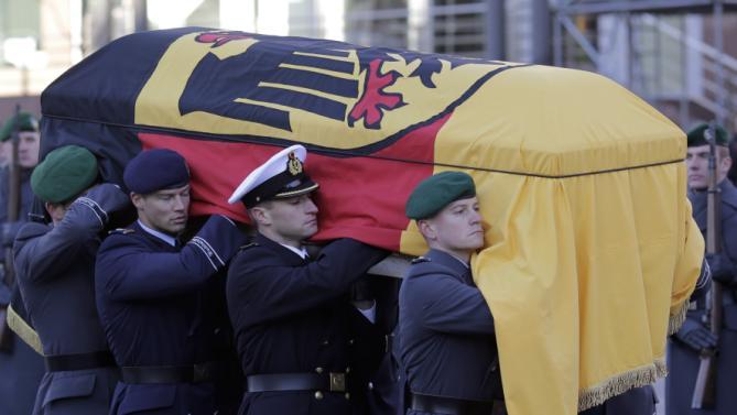 Germany Schmidt Funeral