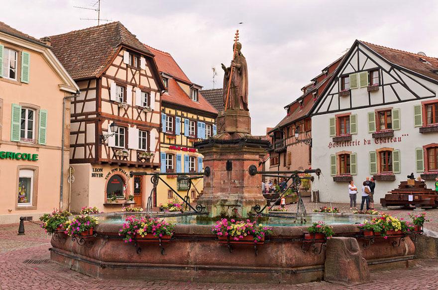 A szépség és a szörnyeteg – Alsace, Franciaország