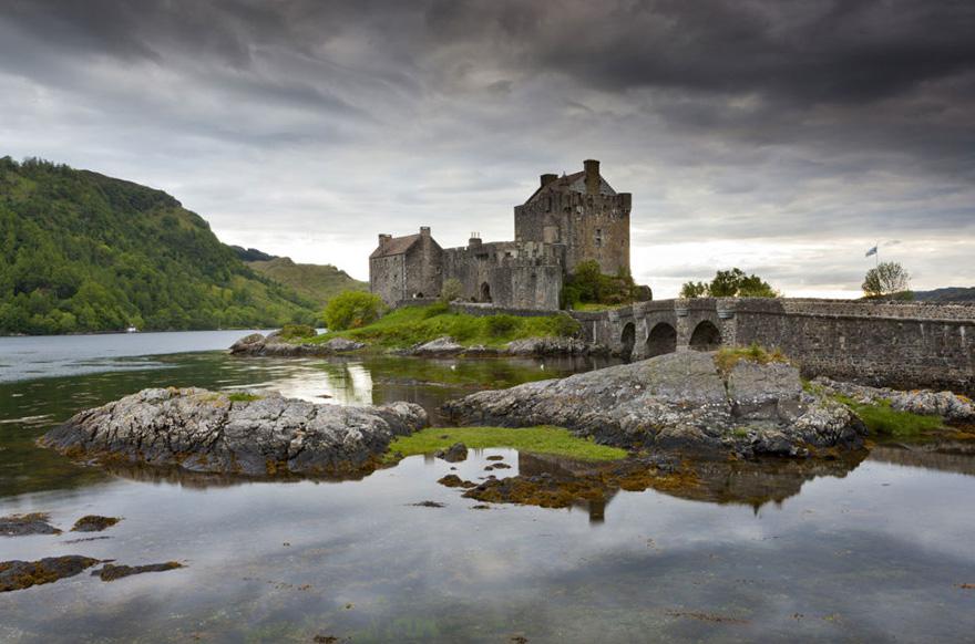 Merida, a bátor – Eilean Donan kastély, Skócia, Egyesült Királyság