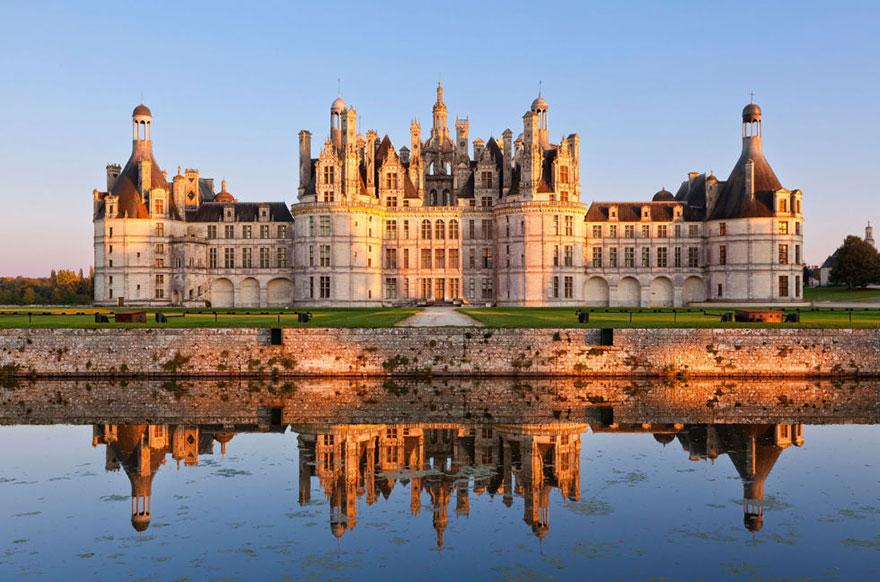 A szépség és a szörny – Chateau De Chambord, Loir-Et-Cher, Franciaország