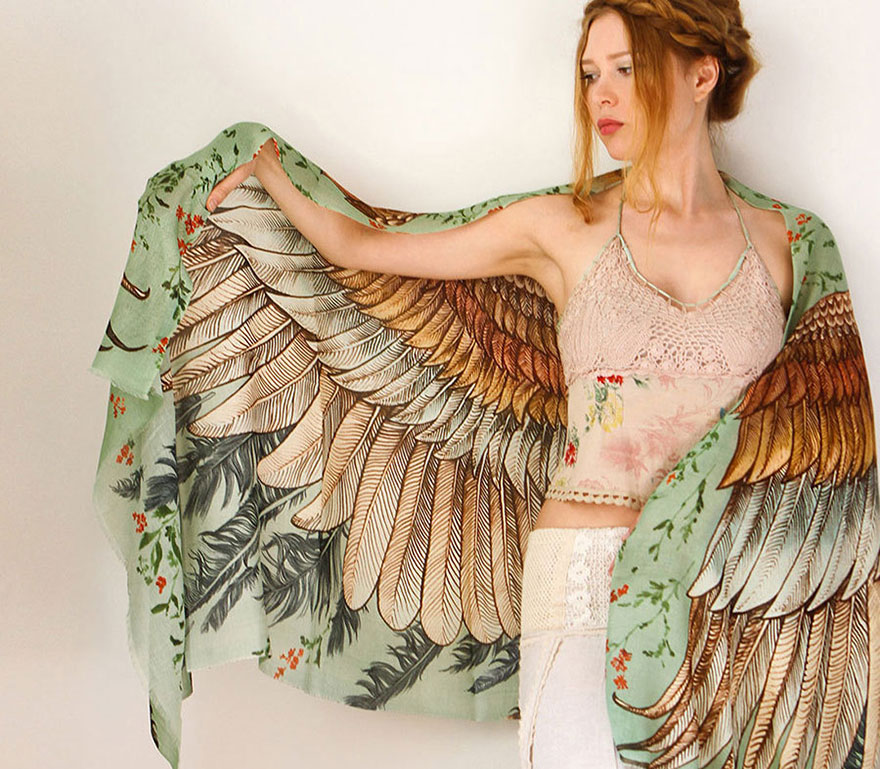 hand-drawn-winged-scarves-that-will-turn-you-into-a-bird-2__880