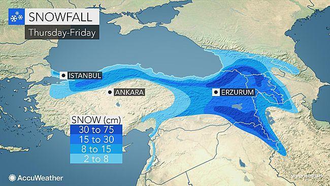 60 cm hó eshet szilveszterre