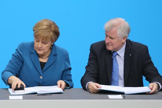 Angela-Merkel-und-Horst-Seehofer