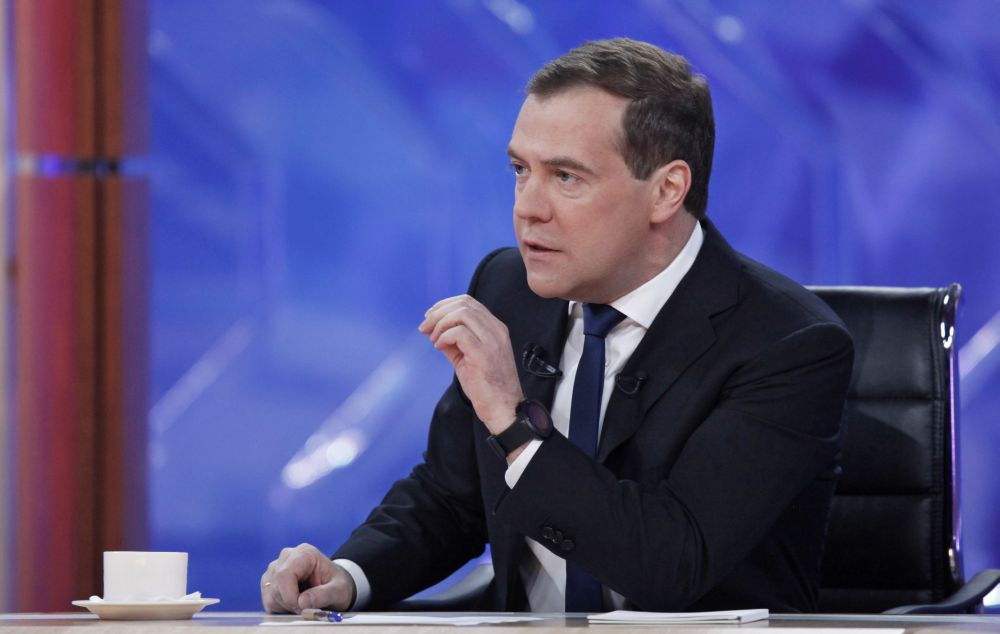 RUSSIA-GOVERNMENT-POLITICS-MEDVEDEV
