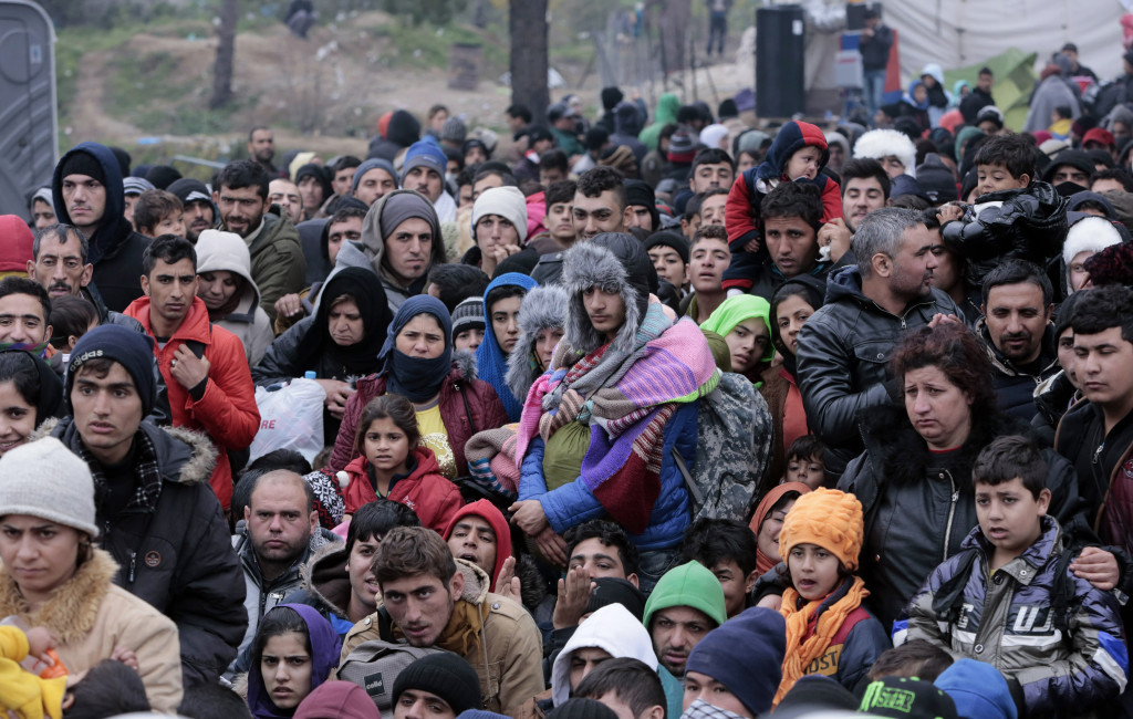 Migrants Stuck On Greek Border As New Restrictions Are Enforced
