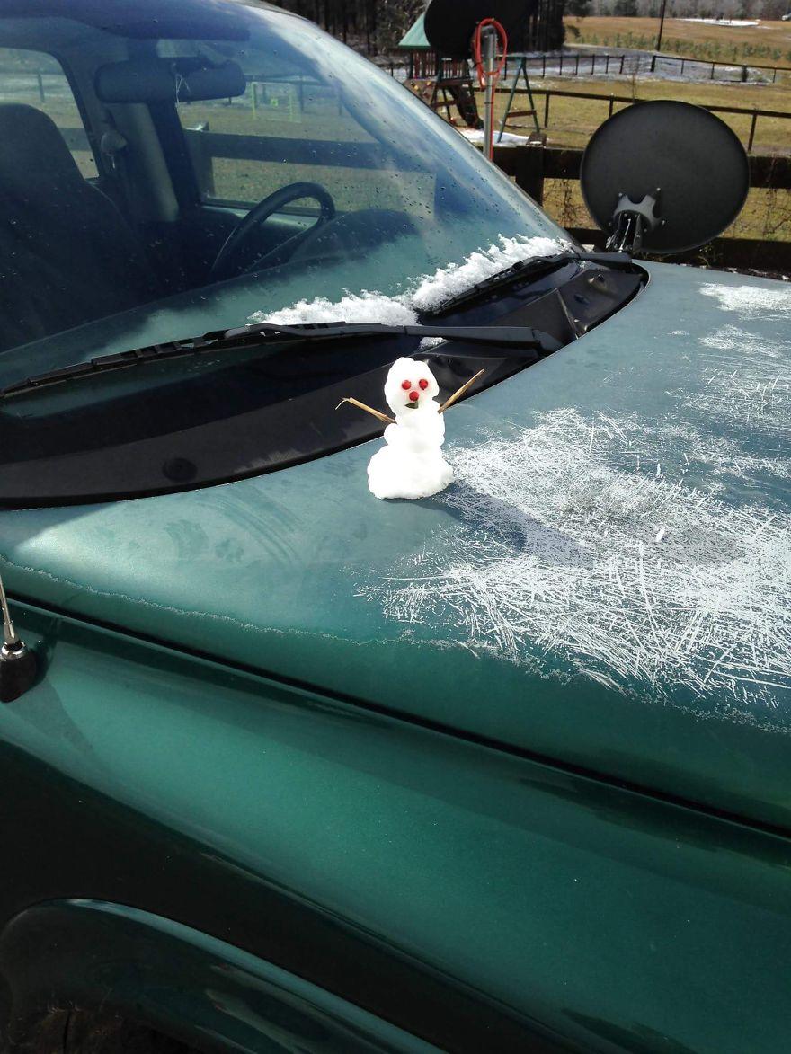 Dél-Karolinában ennyi jutott a hóviharból